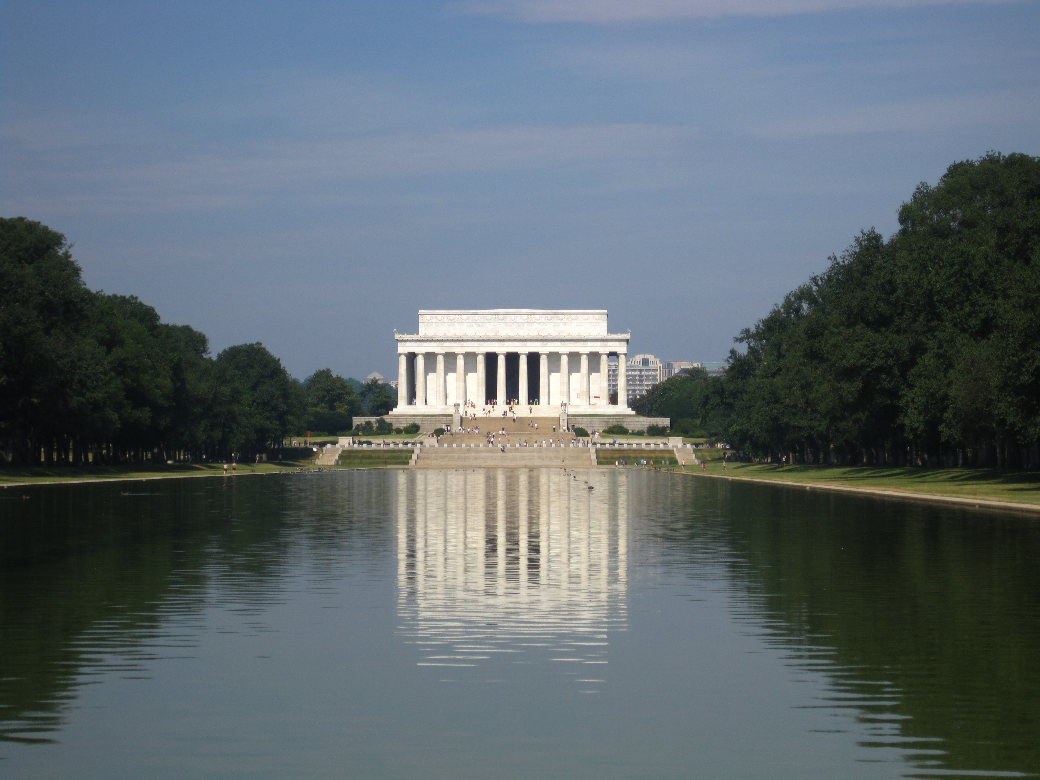 Sights To See In Dc Lincoln Memorial And Reflecting Pool